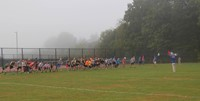 community runners beginning to run