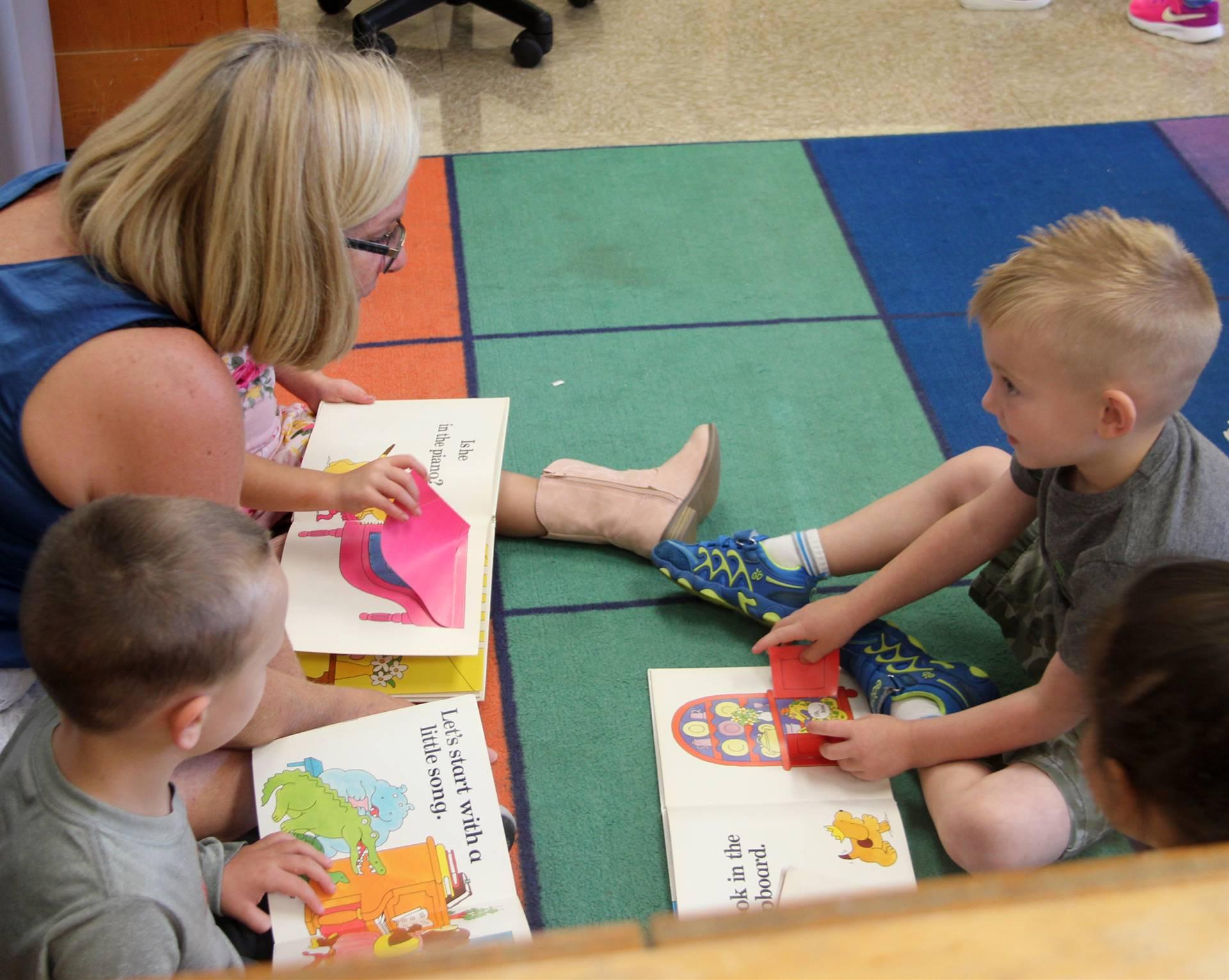 teacher speaking to student