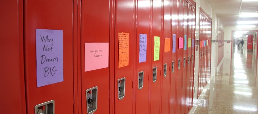 positive messages on lockers