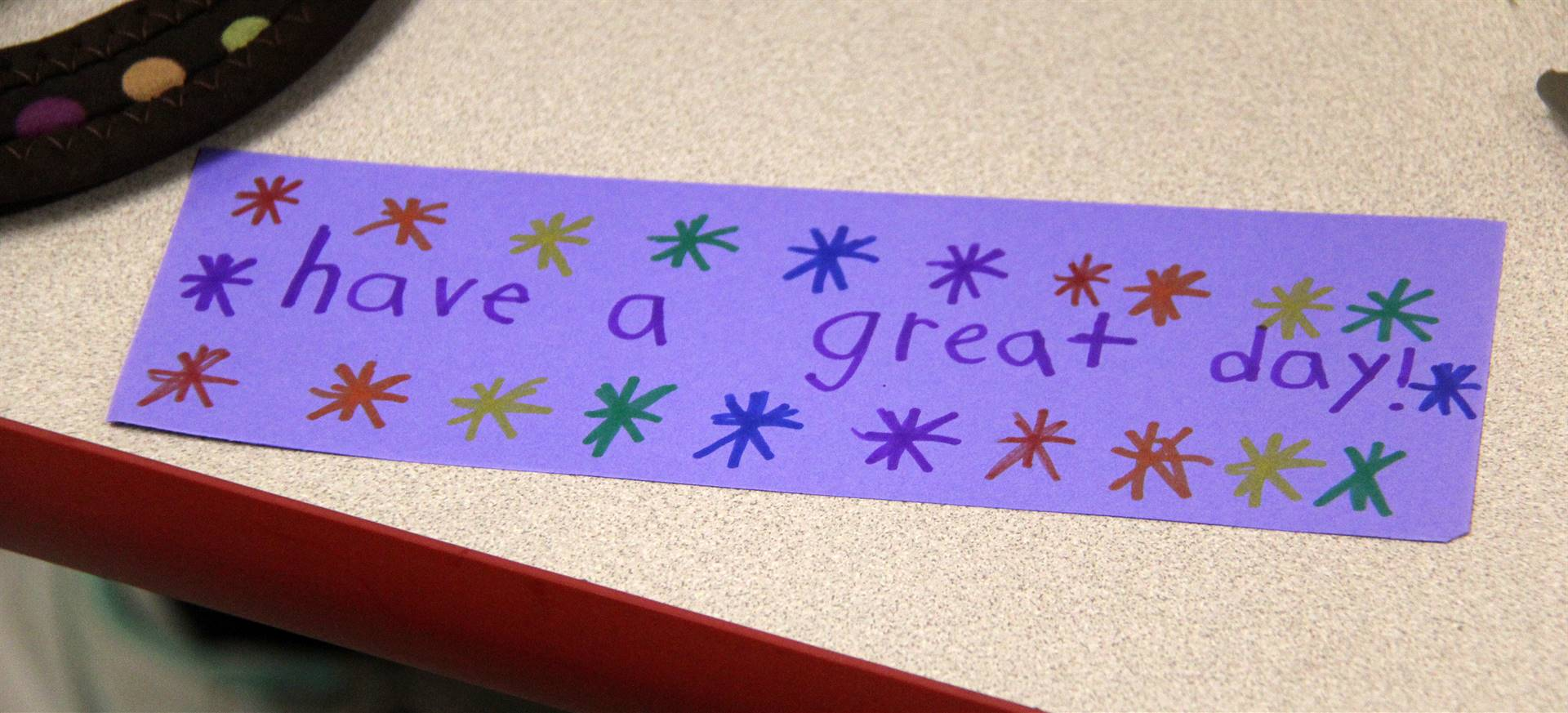 bookmark that says have a great day