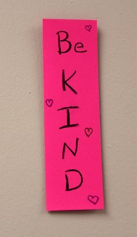 be kind bookmark