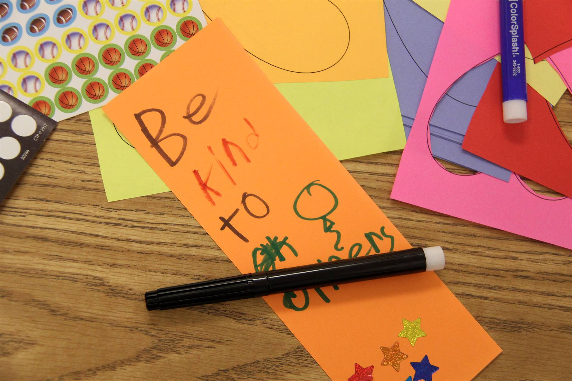 be kind to others bookmark