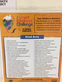 enlarged great kindness challenge checklist