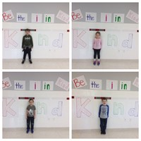 port dickinson students displaying putting the i in kindness 5 of 5
