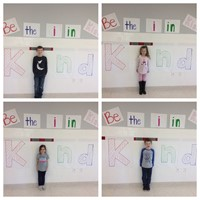 port dickinson students displaying putting the i in kindness 3 of 5