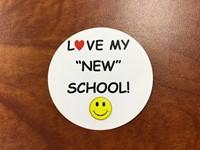 love my new school sticker