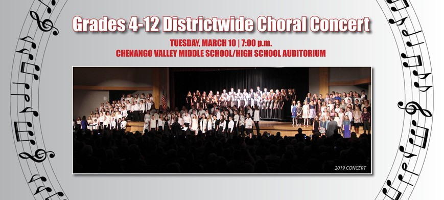gRADES 4-12 Districtwide choral concert
