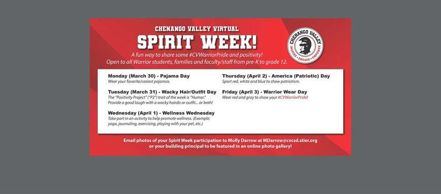 Spirit Week Information