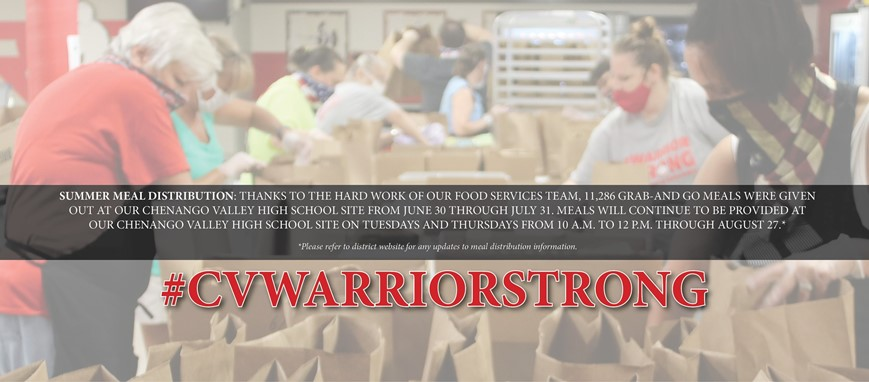 summer meal distribution update