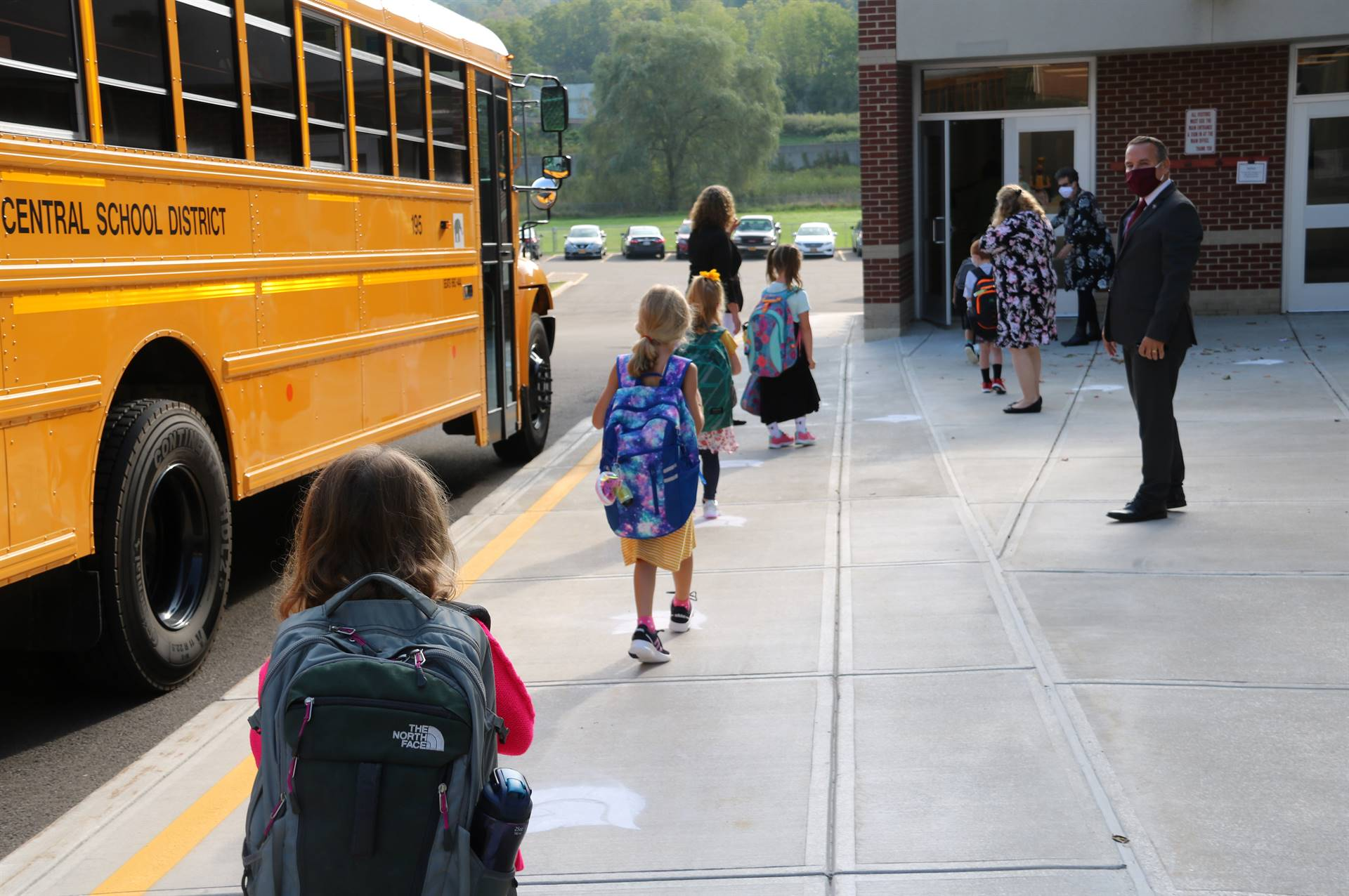 Port Dickinson Elementary First Day of School 12