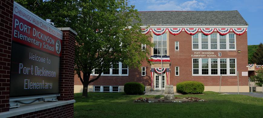 Port Dickinson School Building
