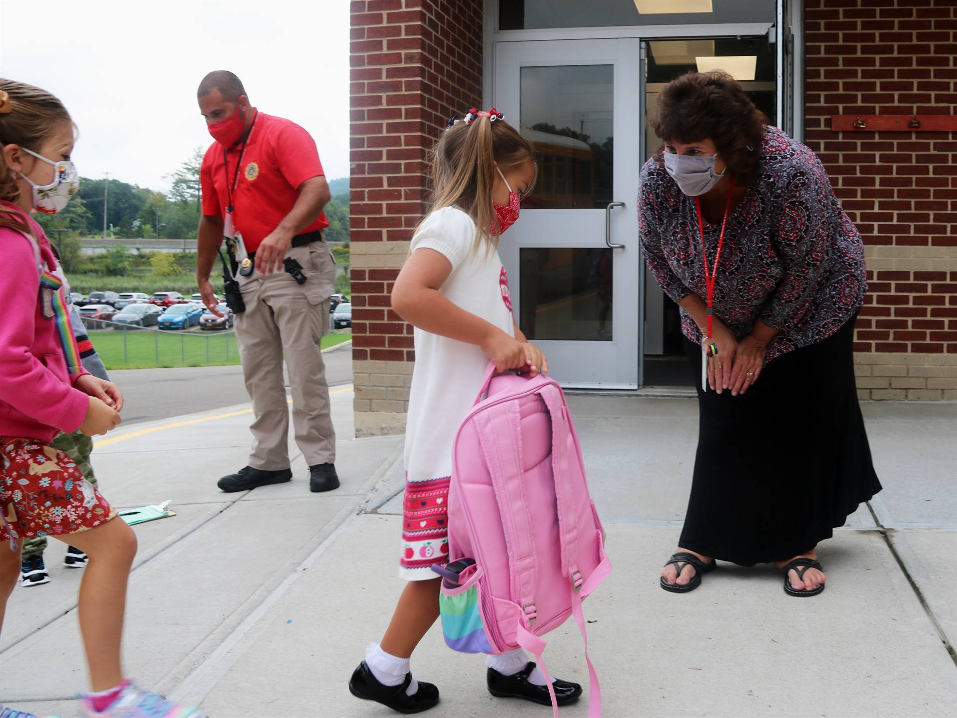 Port Dickinson Elementary First Day of School 28