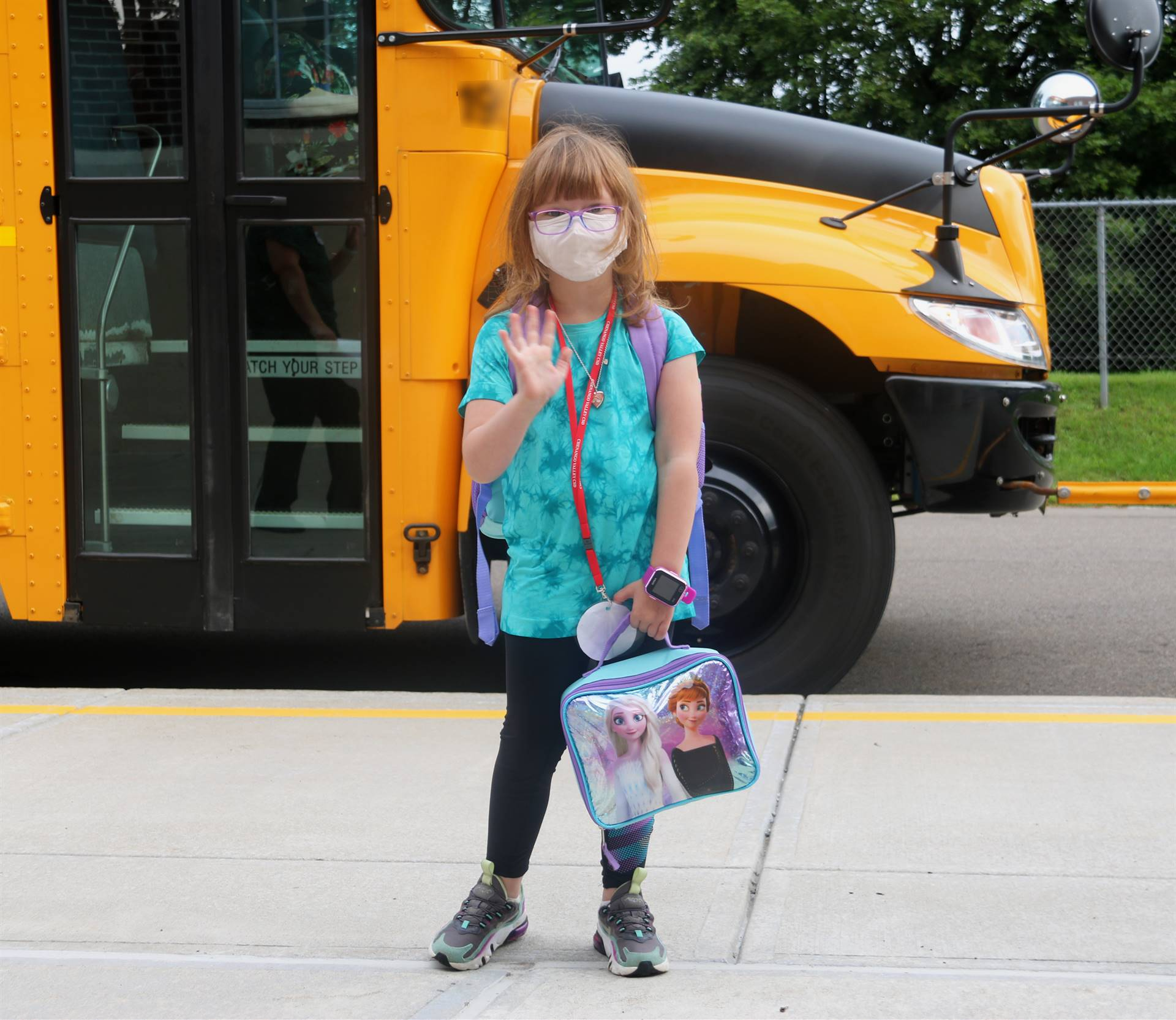 Port Dickinson Elementary First Day of School 22
