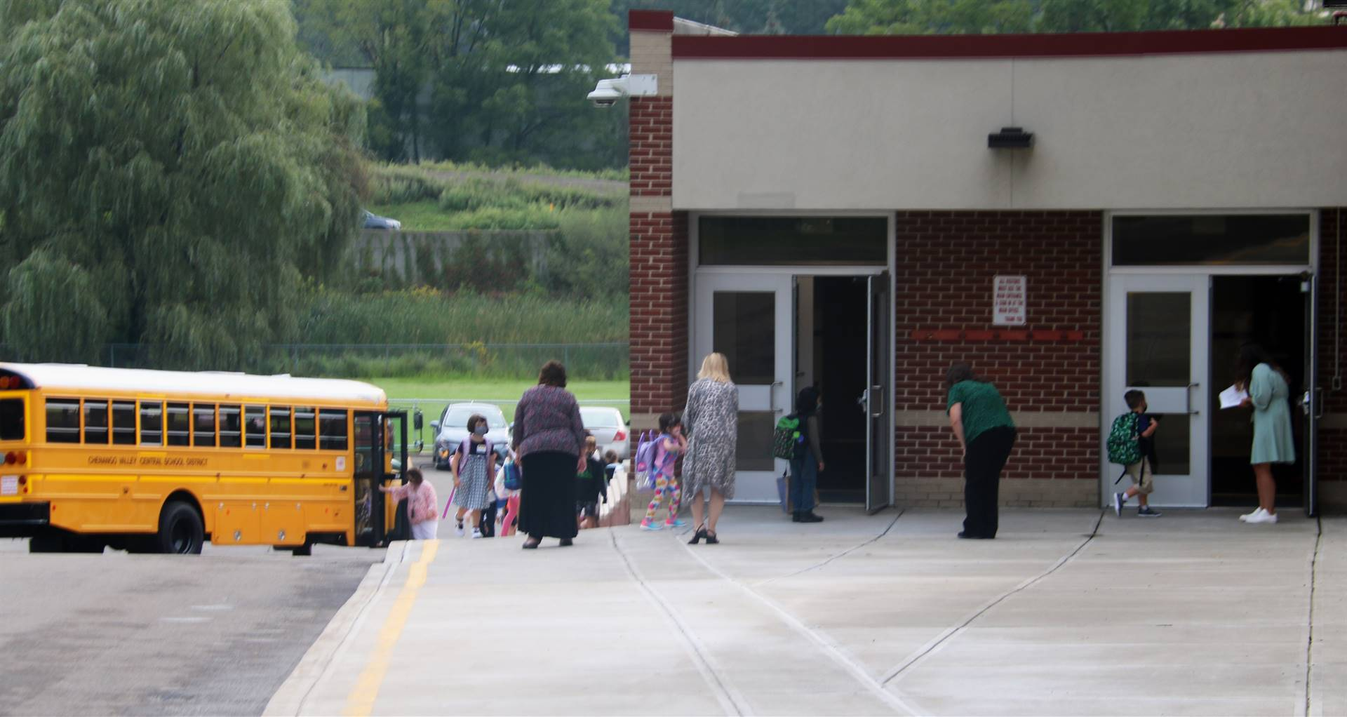 Port Dickinson Elementary First Day of School 8