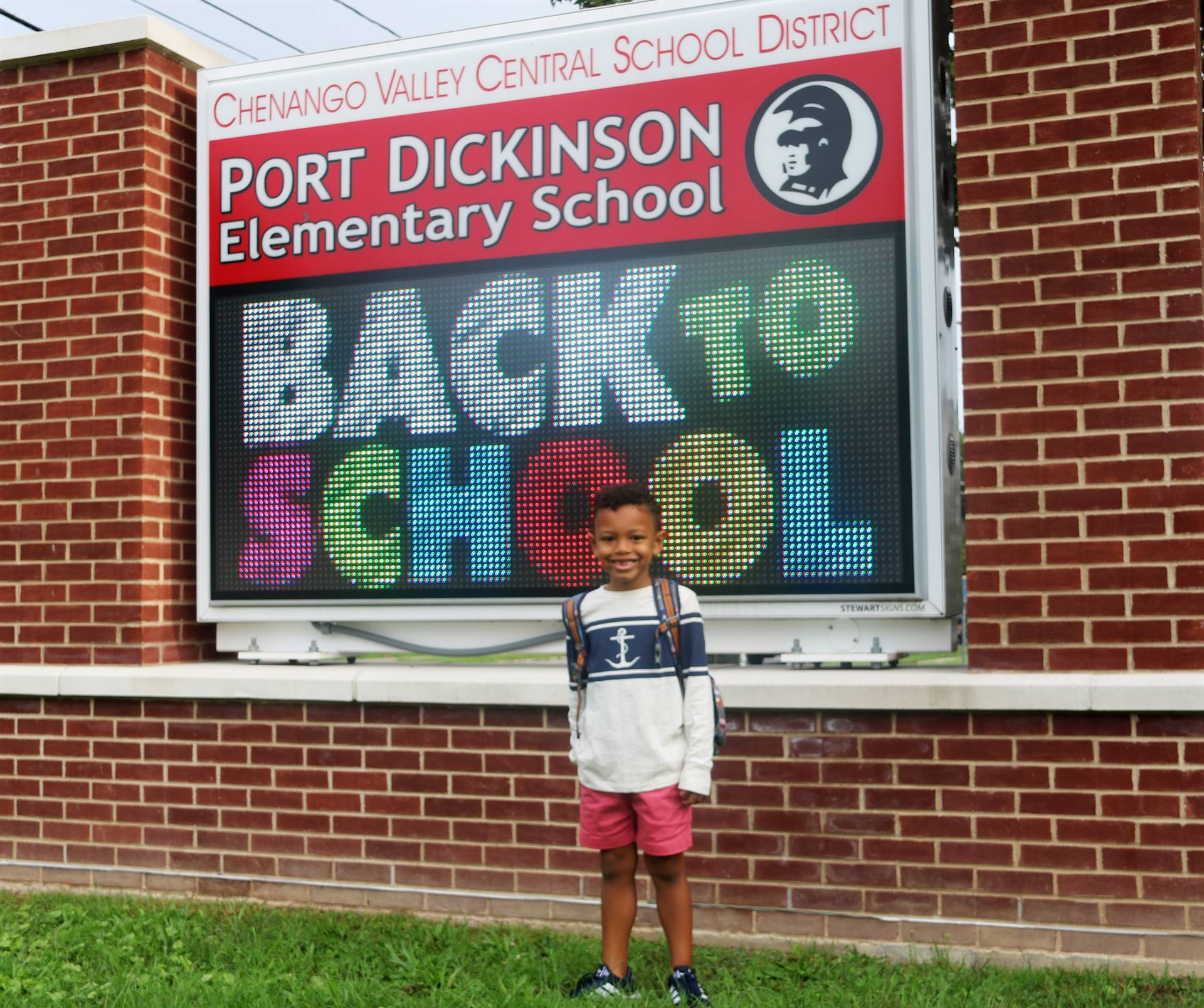 Port Dickinson Elementary First Day of School 7