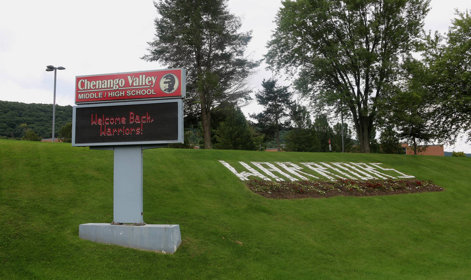 first day of school marquee